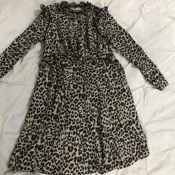 09e86dd8151 ASOS Dresses   Skirts - Leopard print ASOS Maternity dress